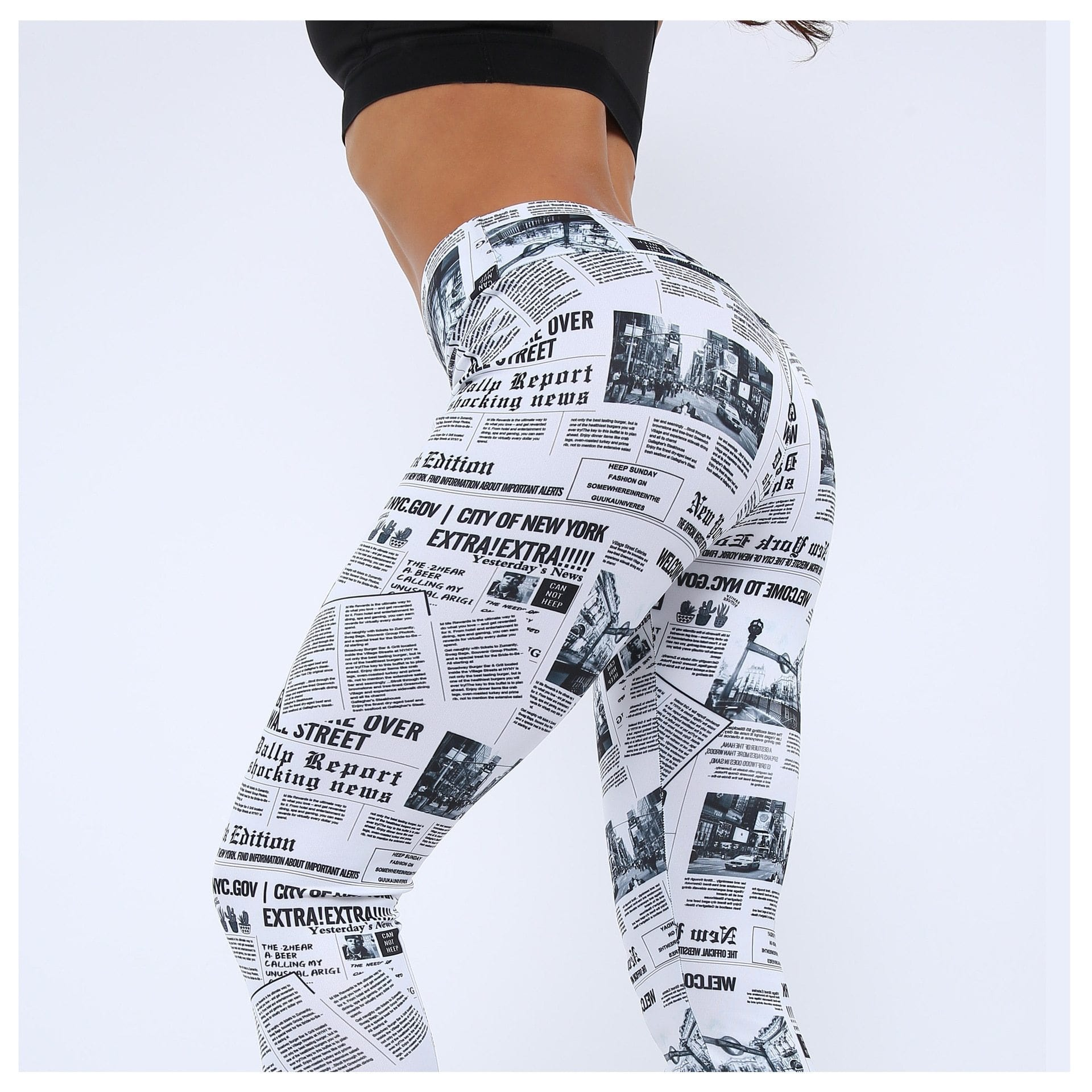 Newspaper Leggings