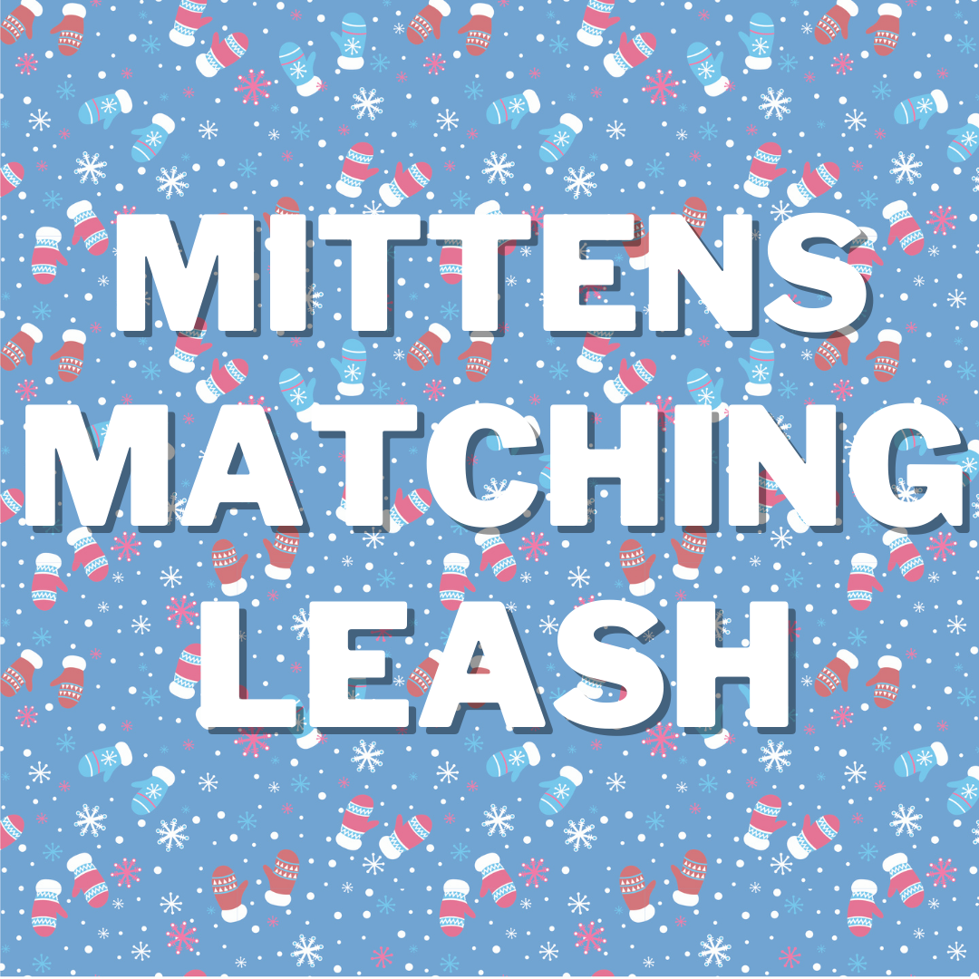 Mittens Matching Leash + Rope Toy - Free