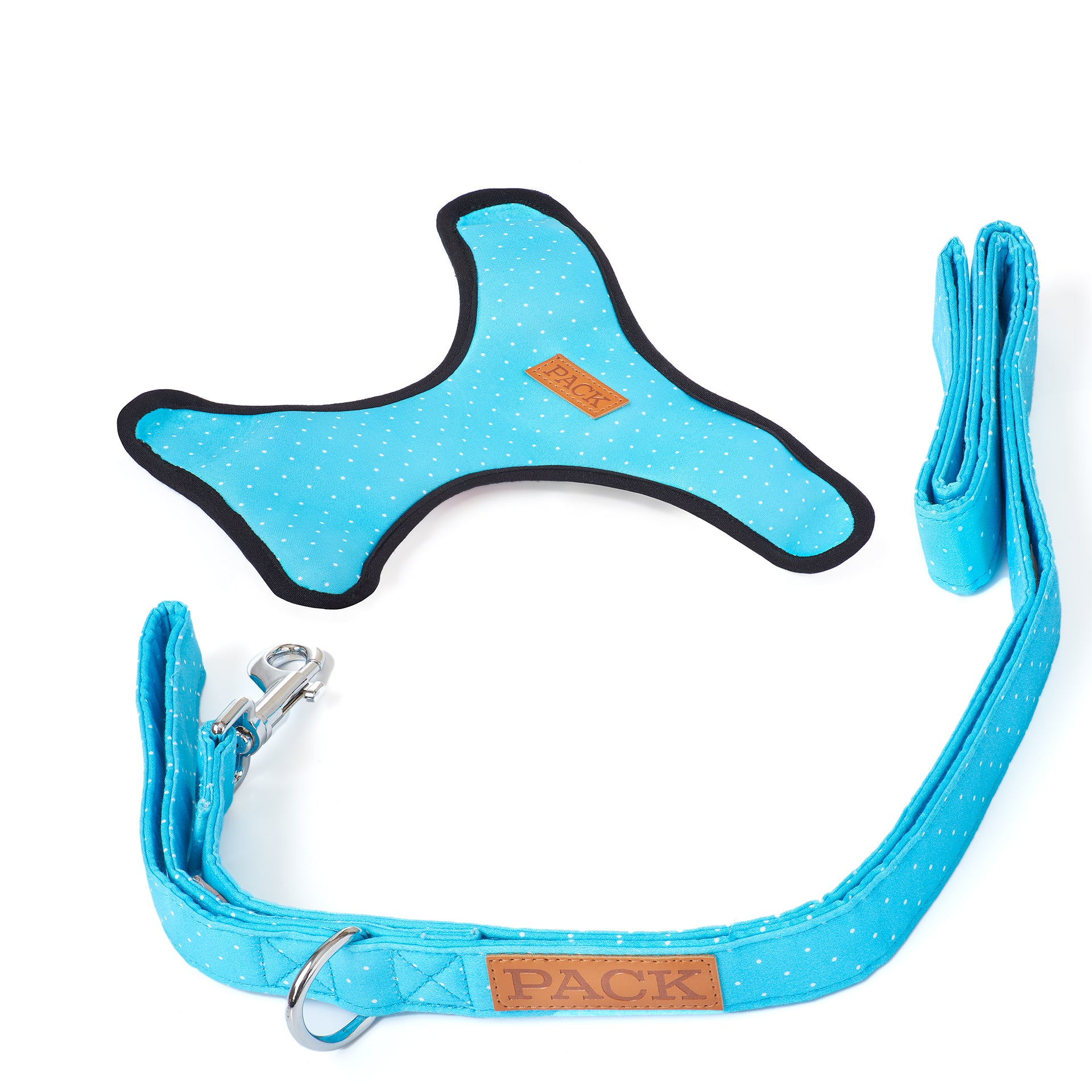 Polka Leash + Reversible Harness