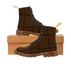 Men's Designer Brown Martin Boots