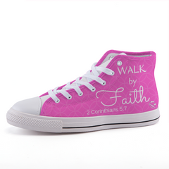 Walk by Faith High-Top Shoes