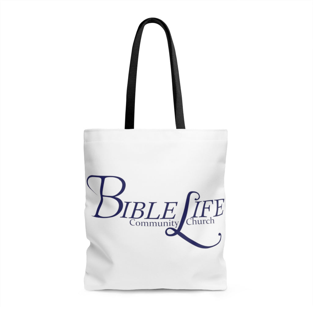 White Bible Life Tote Bag