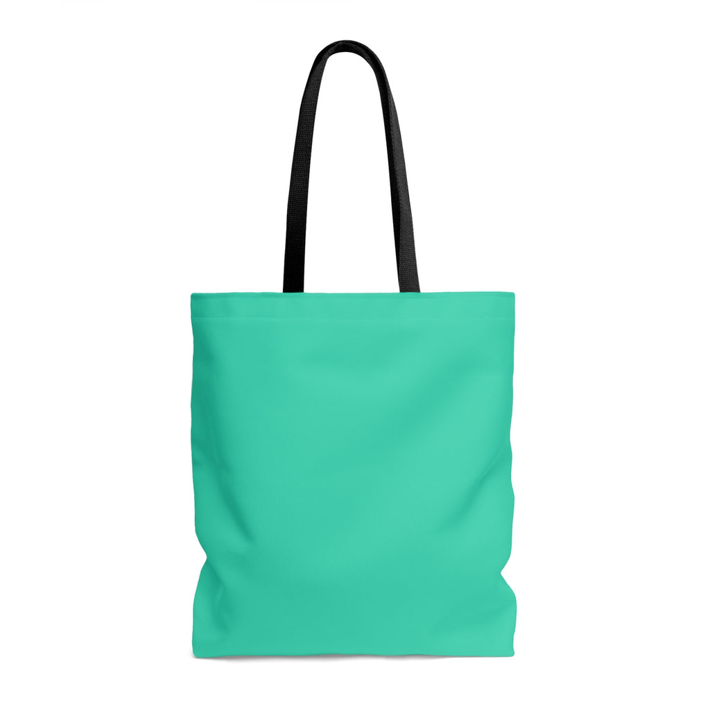 Teal Bible Life Tote Bag