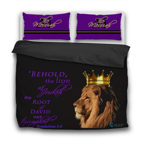 Lion of Judah Bedspread Set