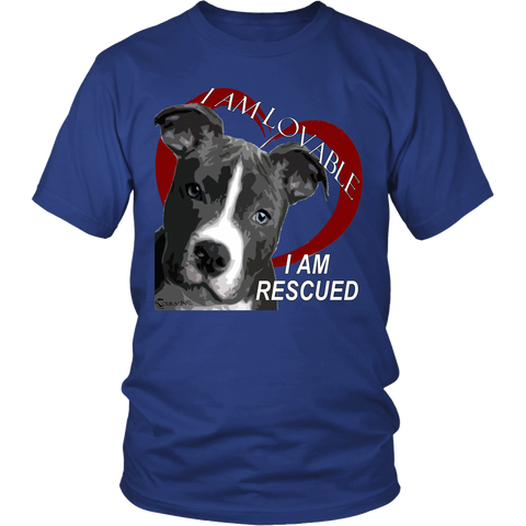I Am Rescued T-Shirts & Hoodies