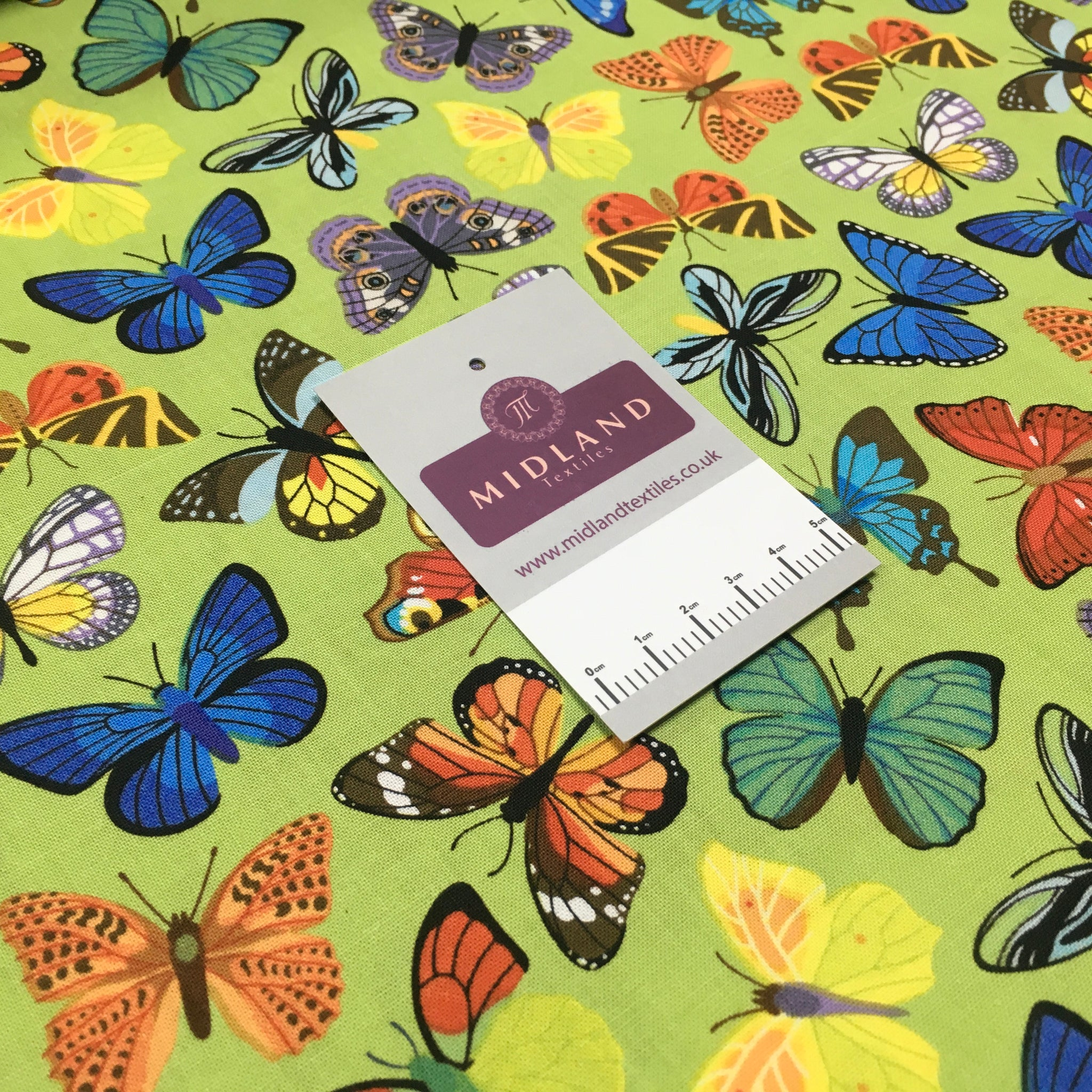 Butterfly printed Korean 100% cotton Patchwork craft mask Fabric MD1415 Mtex