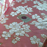 "45"" wide Floral Blossom Satin Brocade Dress Fabric -  M42 Mtex - Midland Textiles & Fabric"