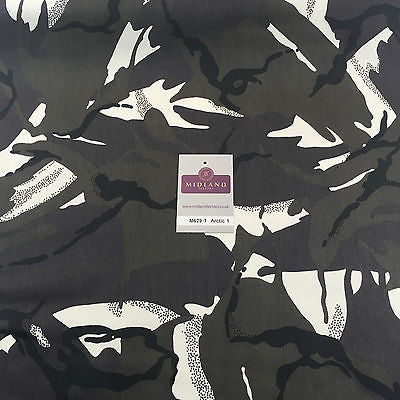 "Army Military Camouflage 100% Cotton Drill Medium Weight Fabric 58"" M629 Mtex - Midland Textiles & Fabric"