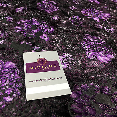 "Floral Velvet burnout devore dress fabric 58"" wide M712 Mtex - Midland Textiles & Fabric"