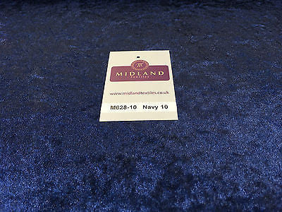 "Crushed Velvet Velour One way stretch Dress & Craft Fabric 58"" M628 Mtex - Midland Textiles & Fabric"