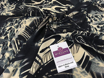 "Light and Dark Gothic Camouflage jersey dress fabric 58"" wide M641 Mtex - Midland Textiles & Fabric"