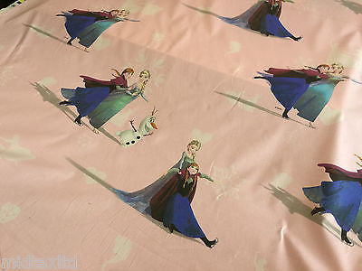 Disney Frozen Ana and Elsa 100% Cotton Print fabric 58 inch M107 Mtex - Midland Textiles & Fabric