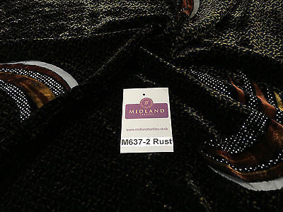 "Burnout Velvet with Spangle Glitter dress fabric 55"" wide M637 Mtex - Midland Textiles & Fabric"