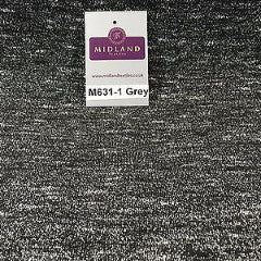 "Salt and Pepper one way stretch jersey raw knit dress fabric 58"" wide M631 Mtex - Midland Textiles & Fabric"
