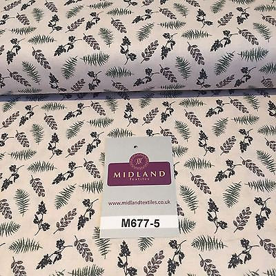 "Wine Highland Scottish Tartan 100% Cotton craft and quilting Fabric 45"" M677 - Midland Textiles & Fabric"