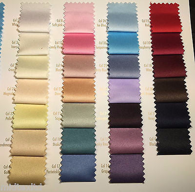 Peau-De-Soie 100% Polyester medium  Matt Satin wedding dresses fabric M601