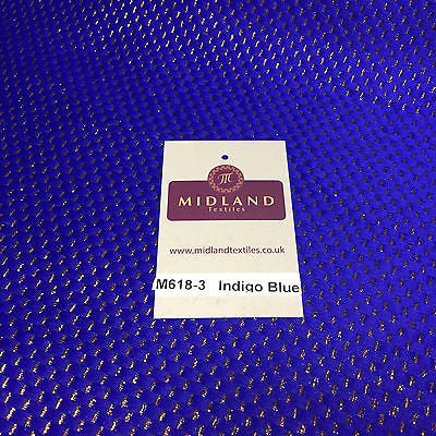 "Indian Metallic Shimmer Lame Banarsi Jacquard Brocade Fabric 44"" Wide M618 - Midland Textiles & Fabric"