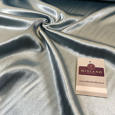 "Satin Backed Crepe Bridal & Evening Dress Fabric Medium Weight 44"" M688 Mtex - Midland Textiles & Fabric"