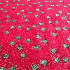 "44"" Christmas Print 100% Cotton Fabric Craft clothing Patchwork M303 Mtex - Midland Textiles & Fabric"