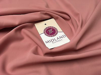 Soft and Lightweight Peach Crepe Dressmaking Fabric ideal for Bridal M510 Mtex - Midland Textiles & Fabric