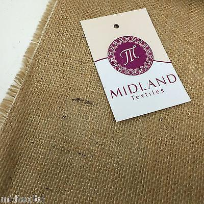 "Hessian Jute 40"" Wide ideal for craft, bags-sacks-cloths and upholstery M50 Mtex"