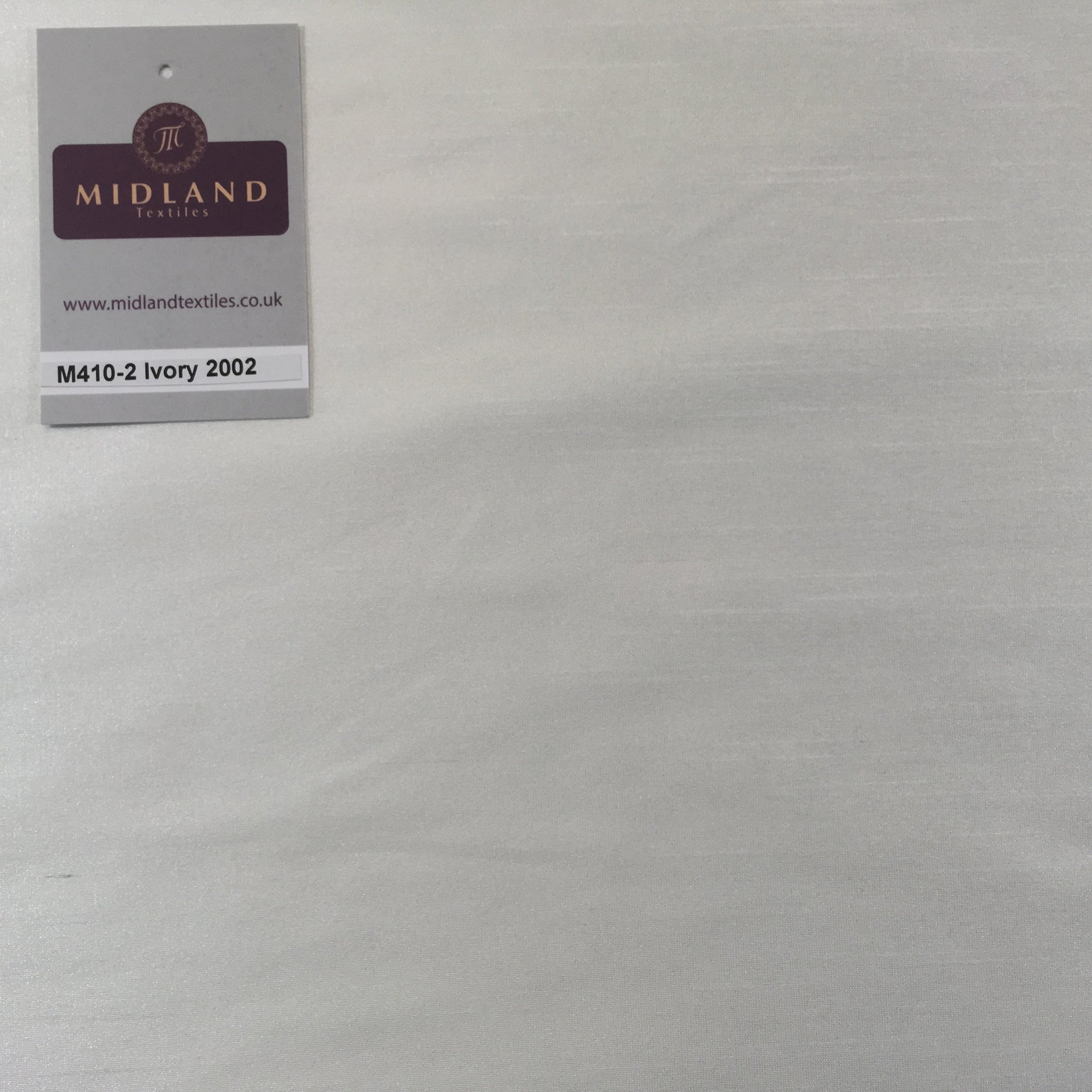 PLAIN FAUX DUPION RAW SILK 100% POLYESTER FABRIC M410 Mtex