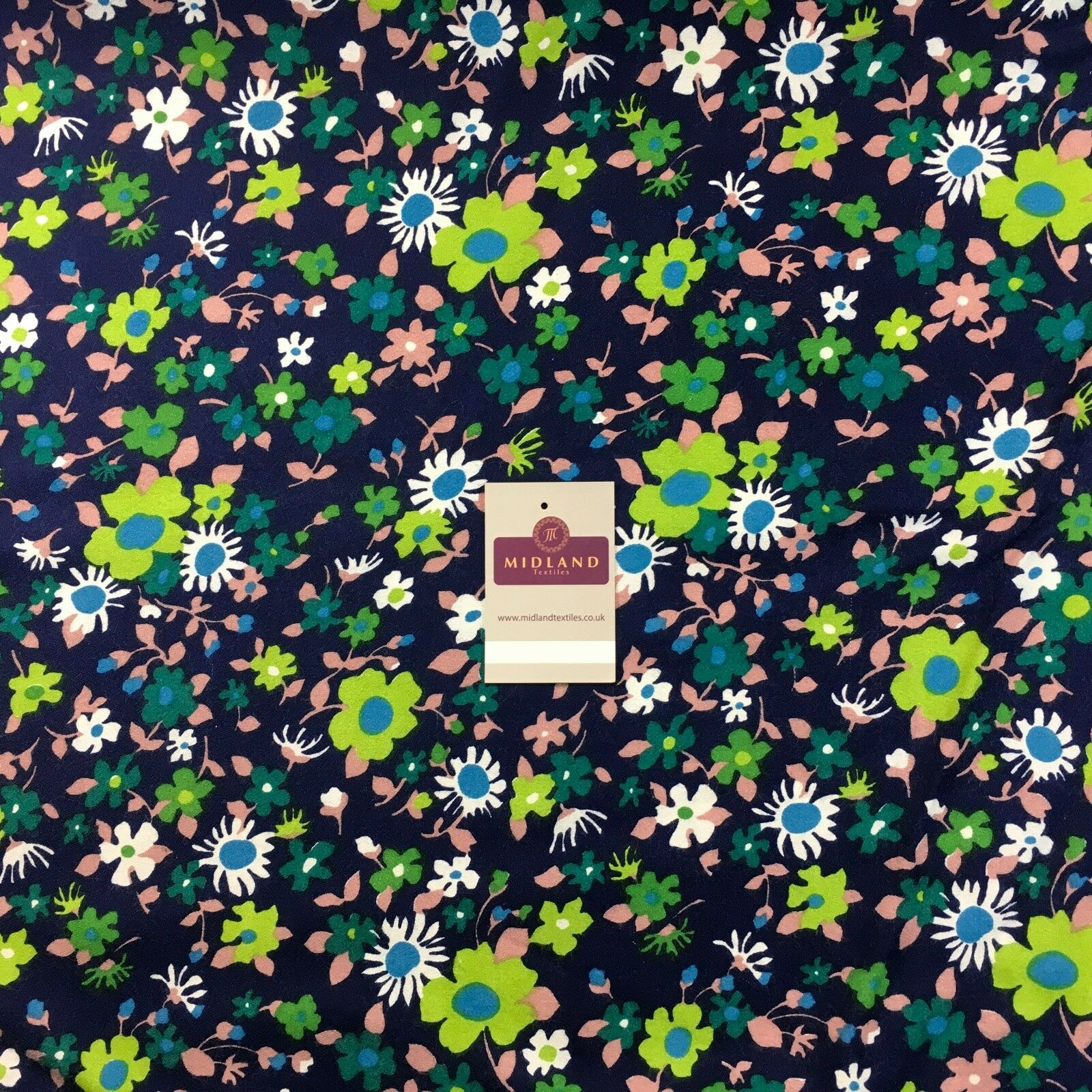 "Ditsy Floral Textured Winter dress fabric 35"" Wide M786 Mtex"
