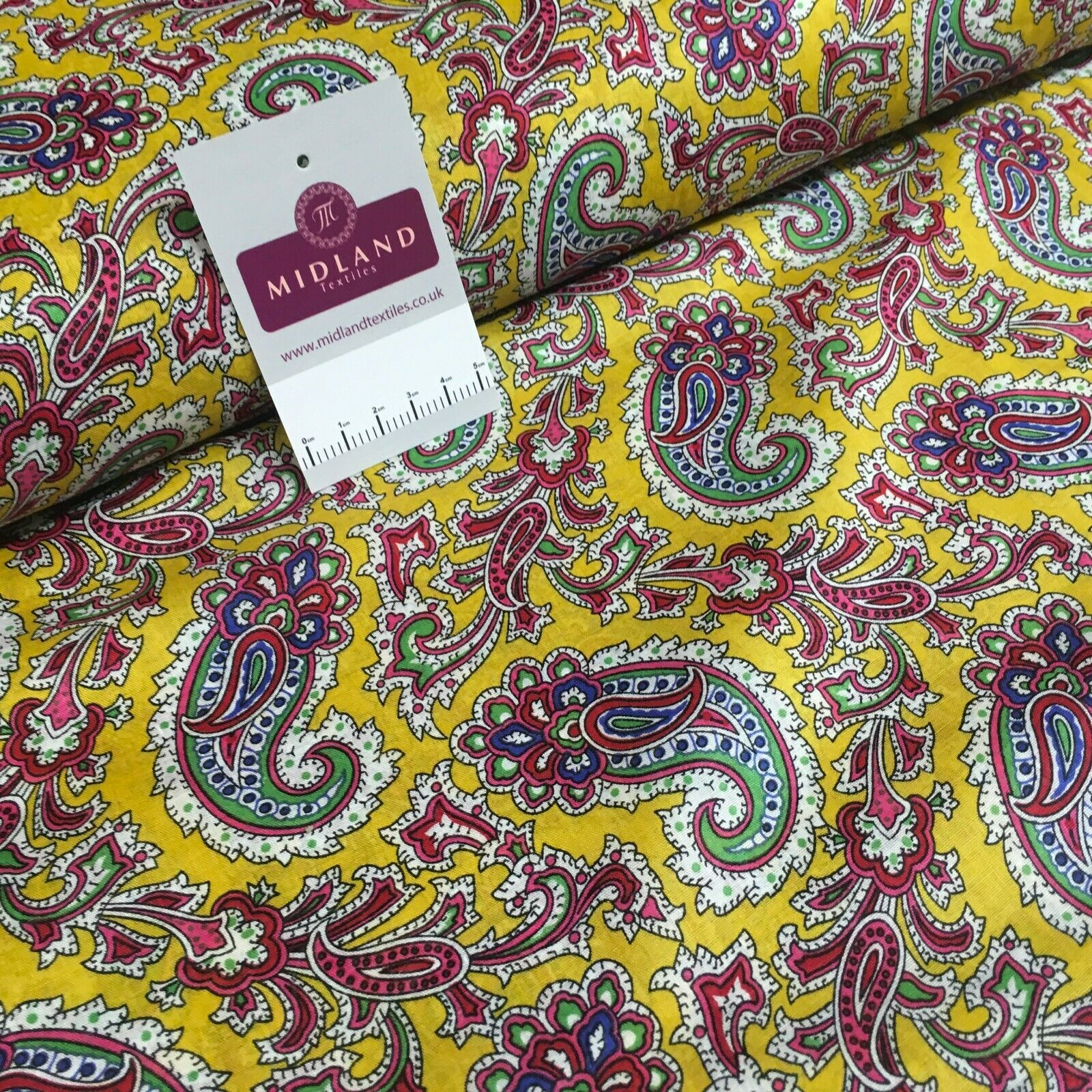Printed 100% cotton floral lawn Dress Fabric M1406 Mtex