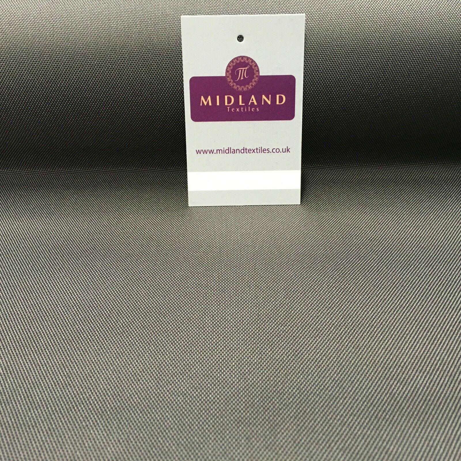 Plain Water Repellent Soft Touch Pu Coated fabric 145cm Wide MD1054