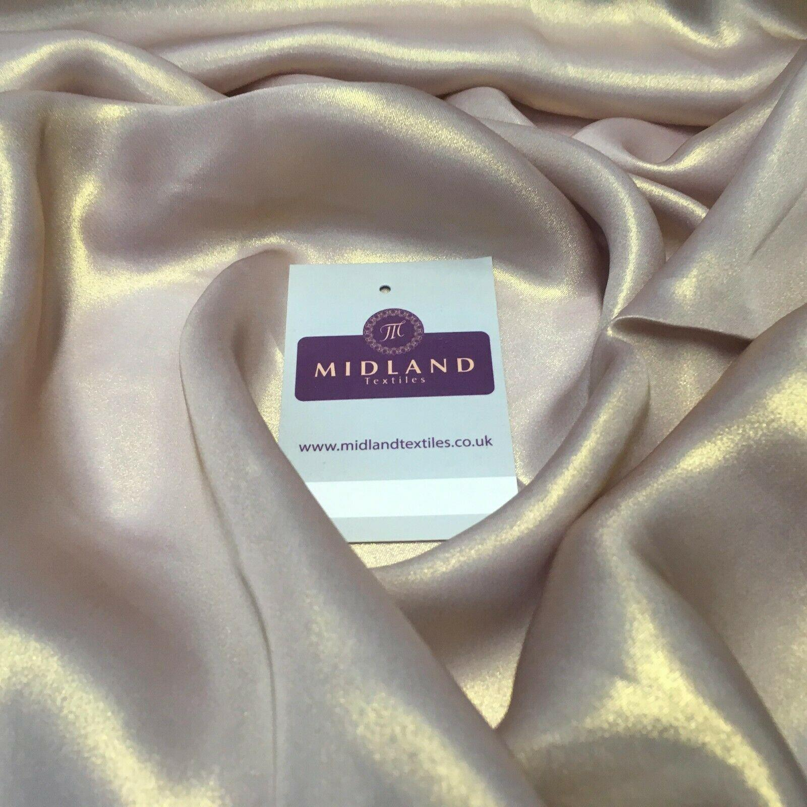 Gold Shimmer Foil Satin Georgette Chiffon Crepe Fabric 110cm  MR1178 Mtex