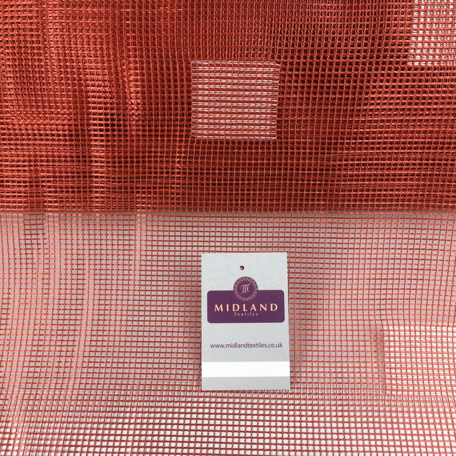 Terracotta mesh net curtain Fabric 150 cm M1208 Mtex