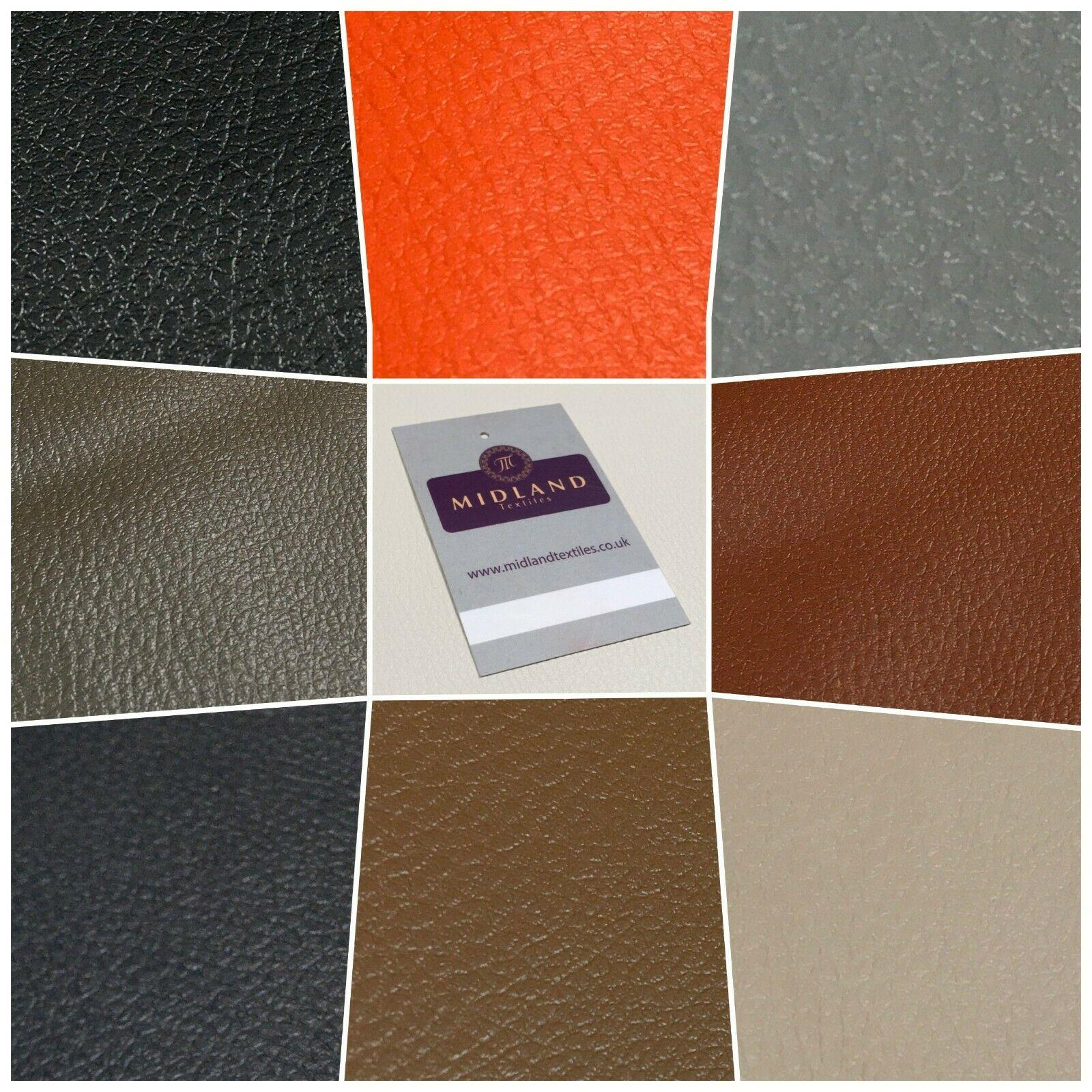 Faux leather Poly Leatherette Fire Retardant PVC Vinyl Upholstery Fabric 140 cm MK1319 Mtex