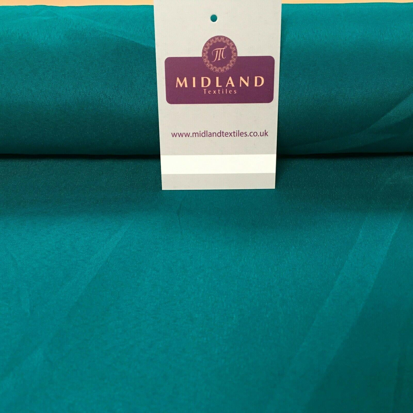 Plain Soft Lightweight Lining 100% Polyester Crepe Fabric 100 cm Wide MR865 Mtex