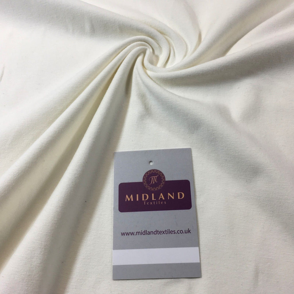 "Cream Cotton Jersey ideal for t-shirting fabric 58"" M720-22 Mtex"