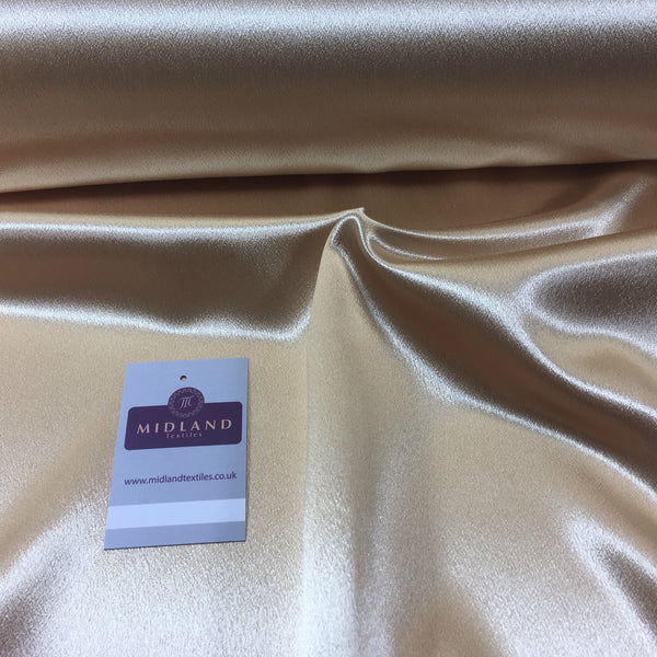 "Luxury Silky Crepe Back Satin- Dress Wedding Prom Bridal 45""  M686 Mtex"