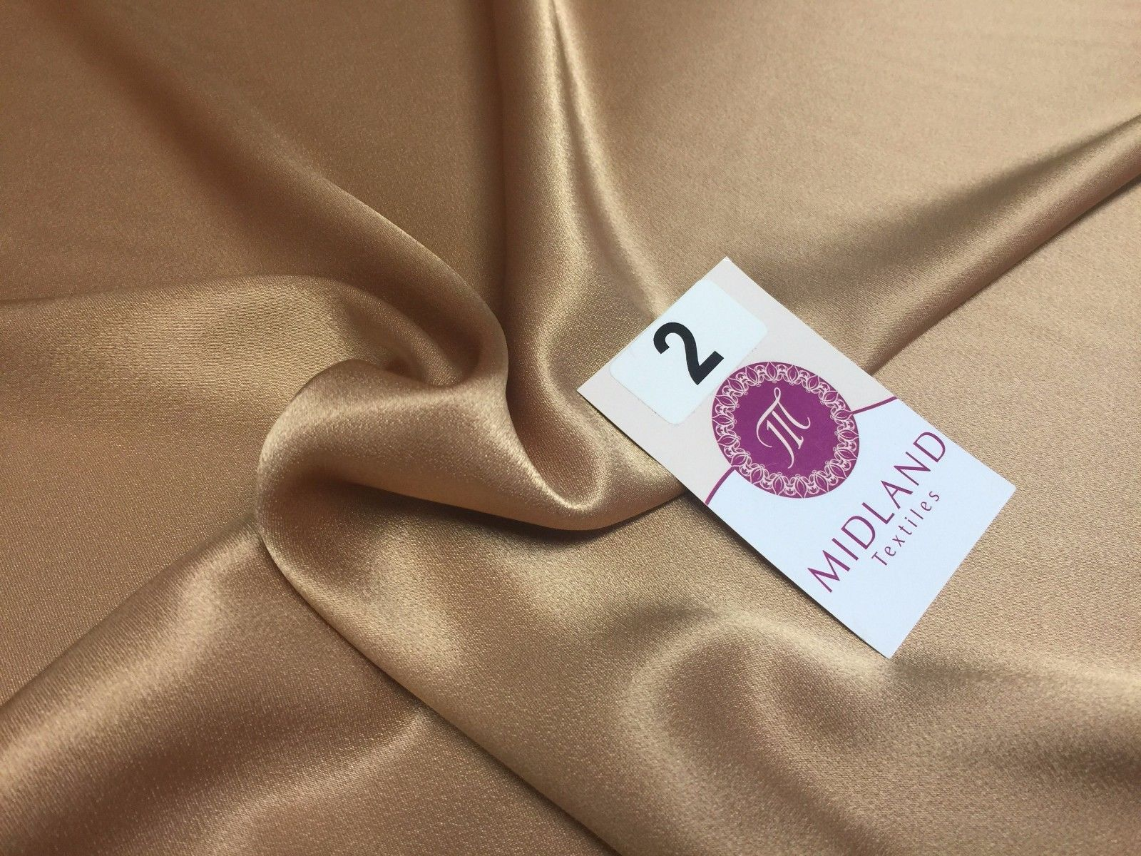 "New Crepe Back Silky Satin Fabric For Weddings Bridal Prom Dance Dresses 45"" M87"