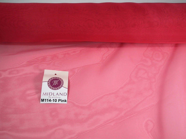 "Organza Sheer Fabric Wedding Chair Sash Bows Table Runner 58"" M114 Mtex"