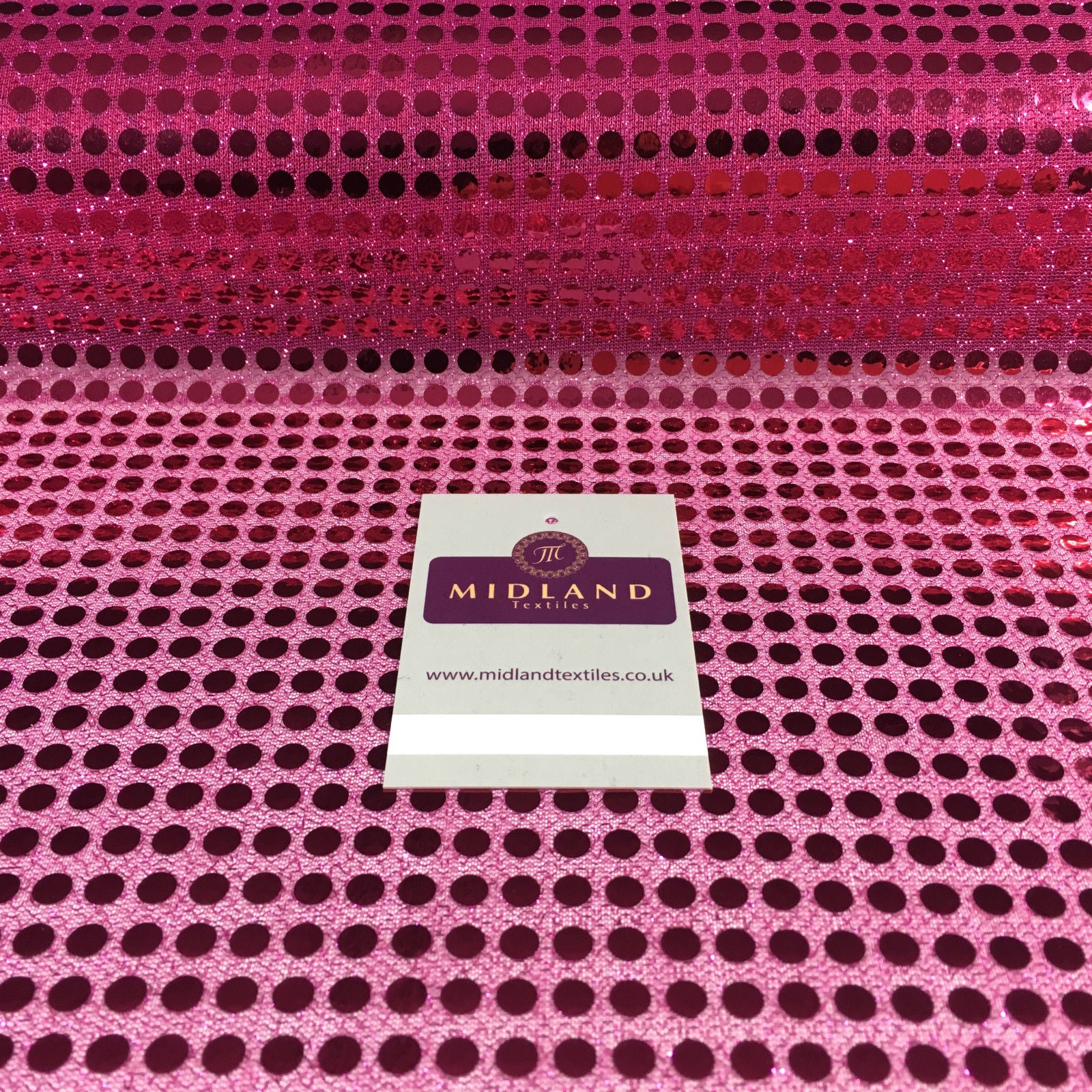 6mm Sequin fabric shiny sparkly material fancy dress costume Per Metre M63 Mtex