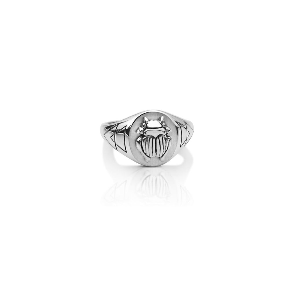 THE SILVER SCARAB RING