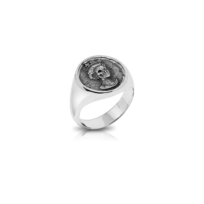 Nick Potts x CHD Coin Silver Ring