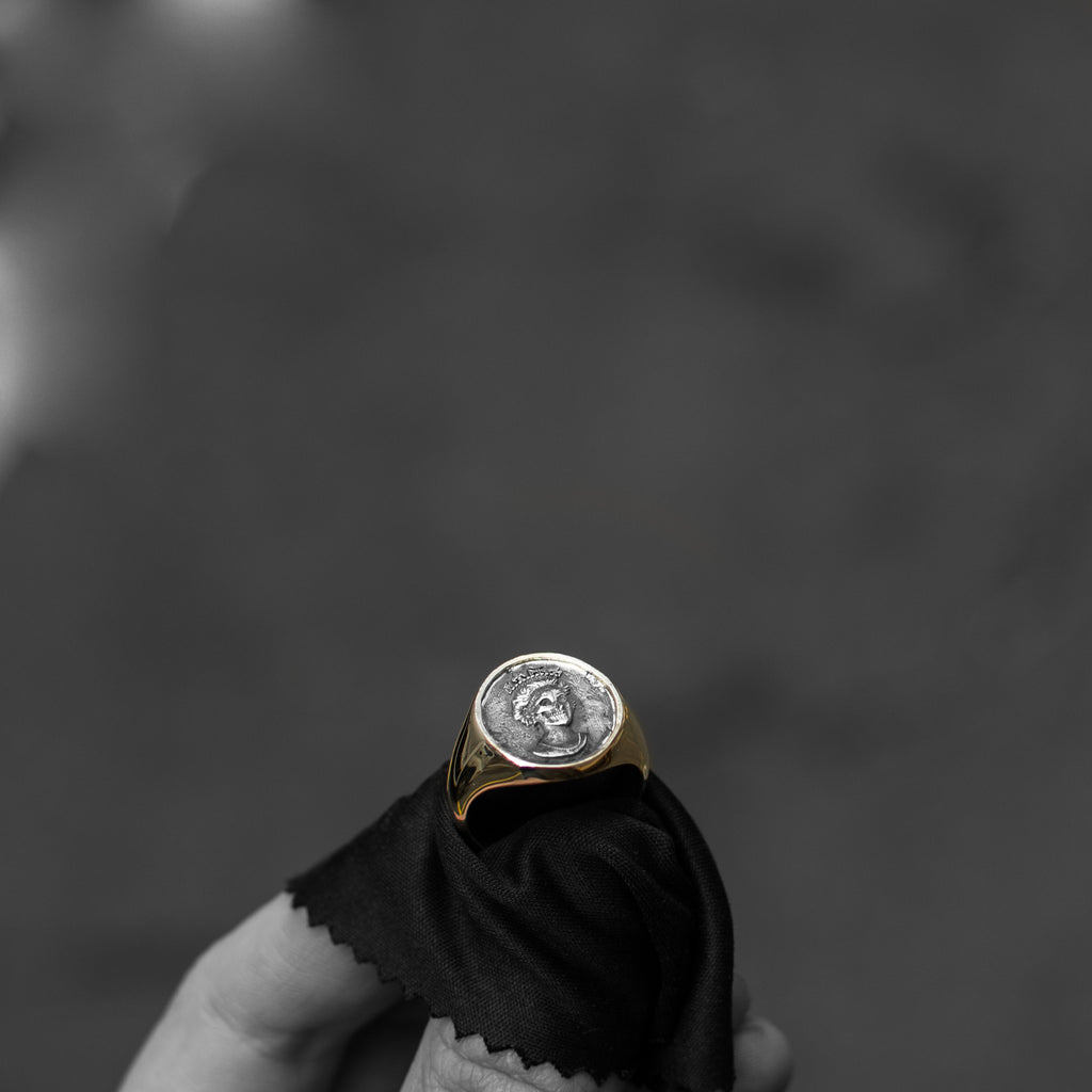 Nick Potts x CHD Coin Ring