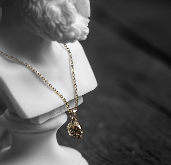 The Gold Skull Pendant