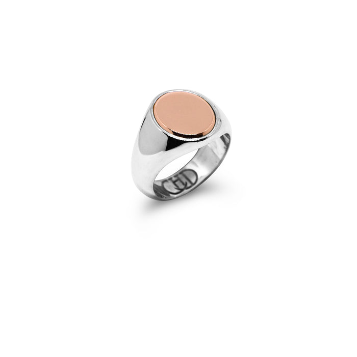 The Oval Rose Gold