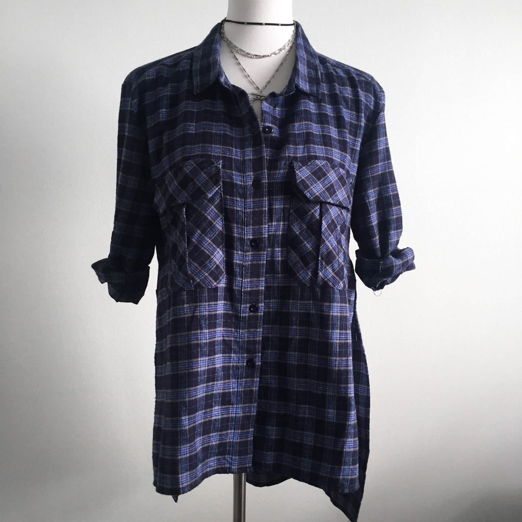 Navy Flannel