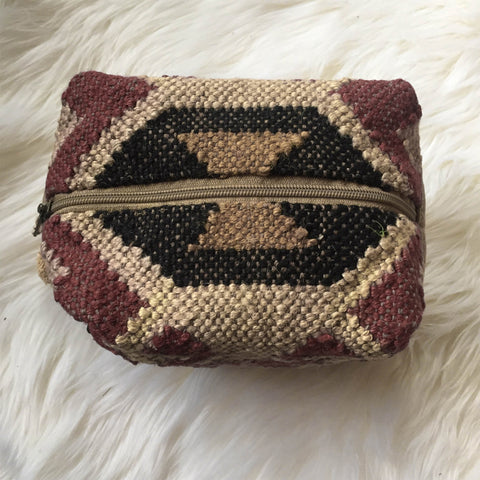 Aztec Carpet Inspired Accessory Bag