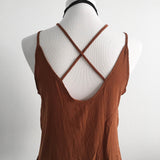 Criss Cross Rust Tank