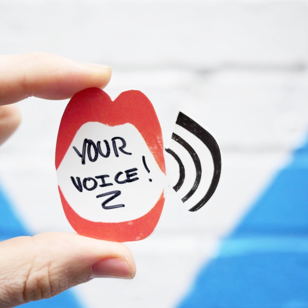 Your Voice 🗯 Sticker