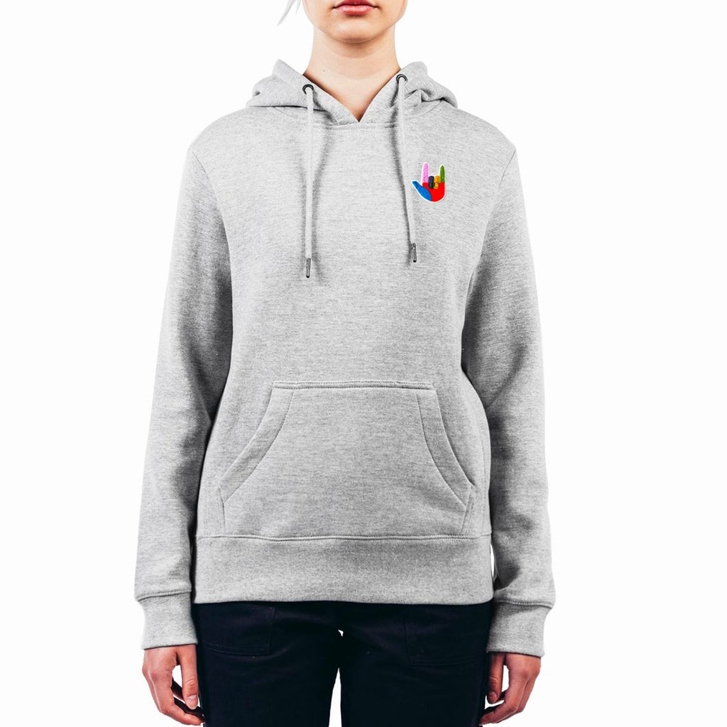 Organic Cotton - Unisex Hooded Sweatshirt