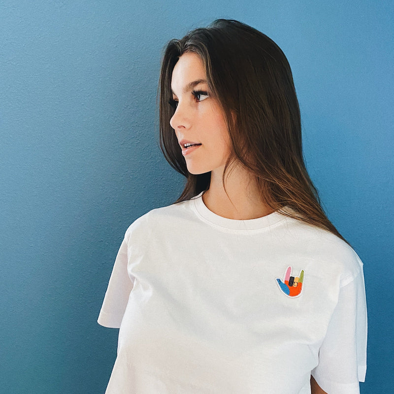 Supima Cotton ILY Patch Tee