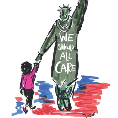 We Should All Care - Poster Download